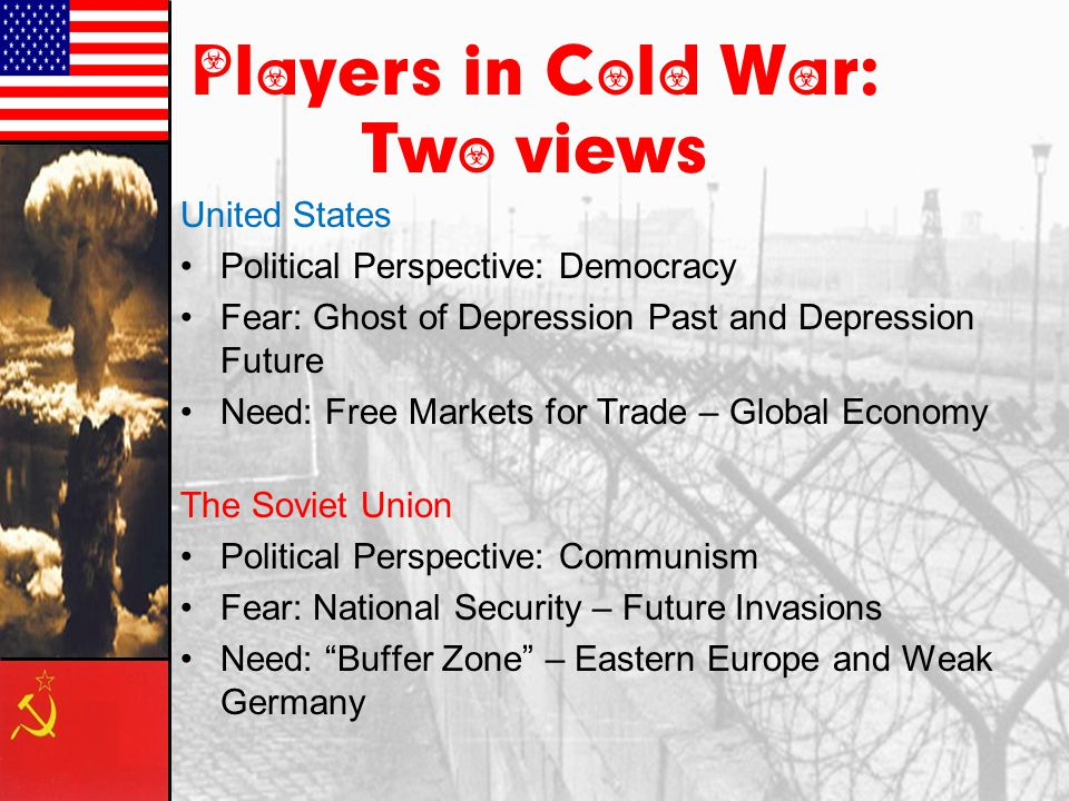 Players in Cold War: Two views
