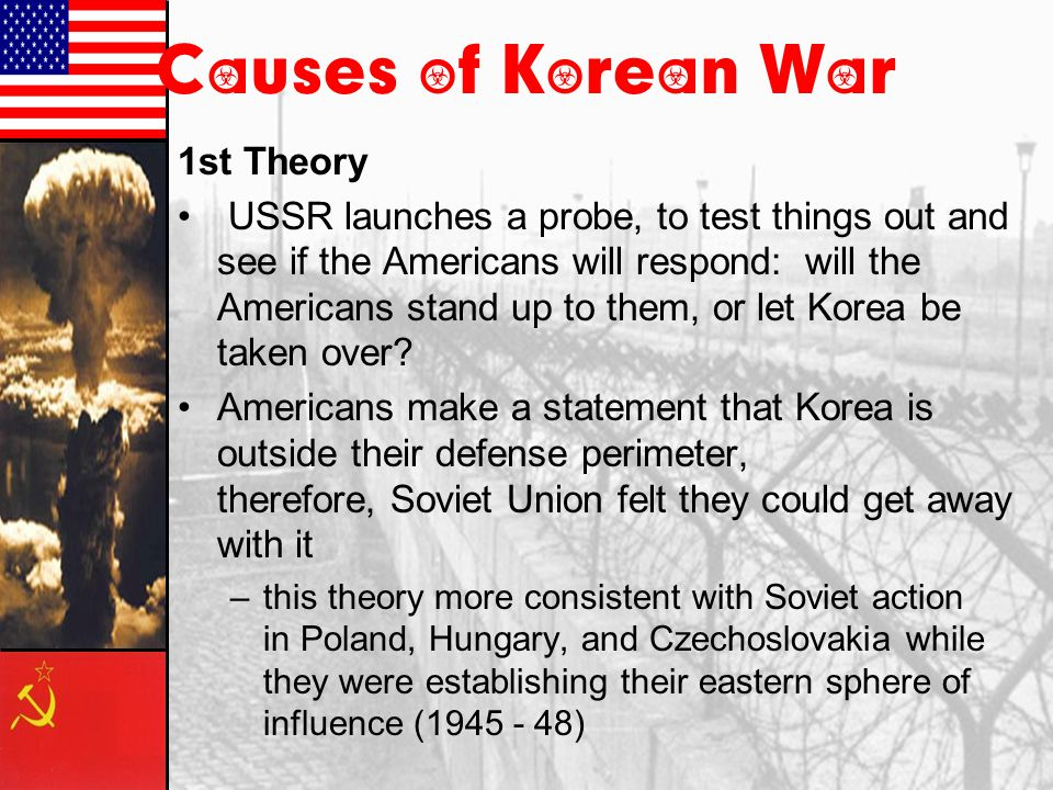 causes of the korean war history crunch history resource for