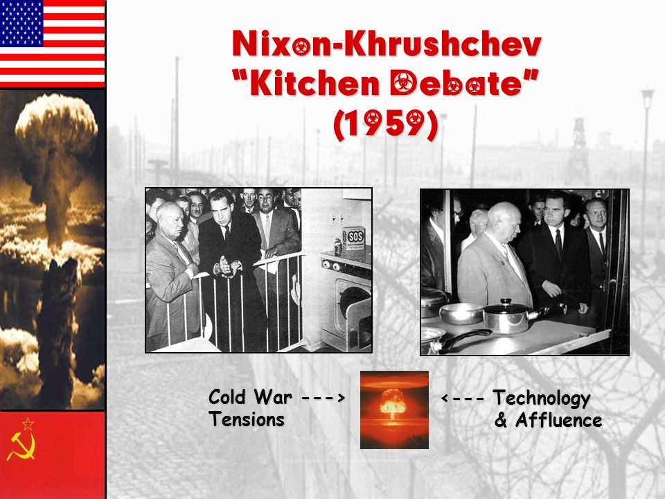 Nixon-Khrushchev Kitchen Debate (1959)