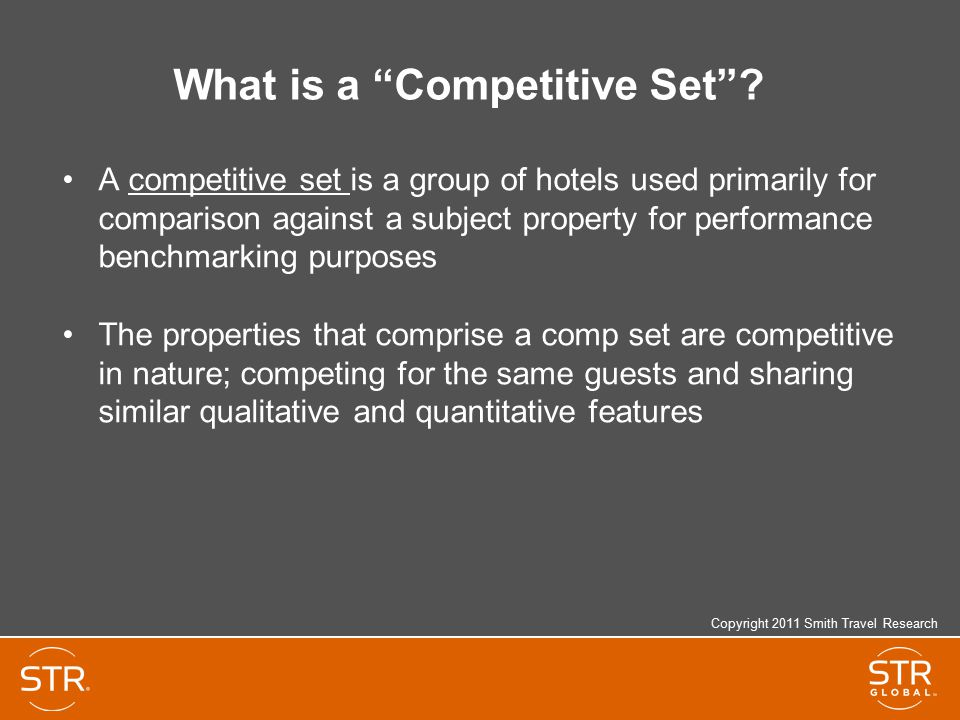 What is a Competitive Set