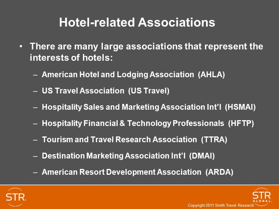 Hotel-related Associations