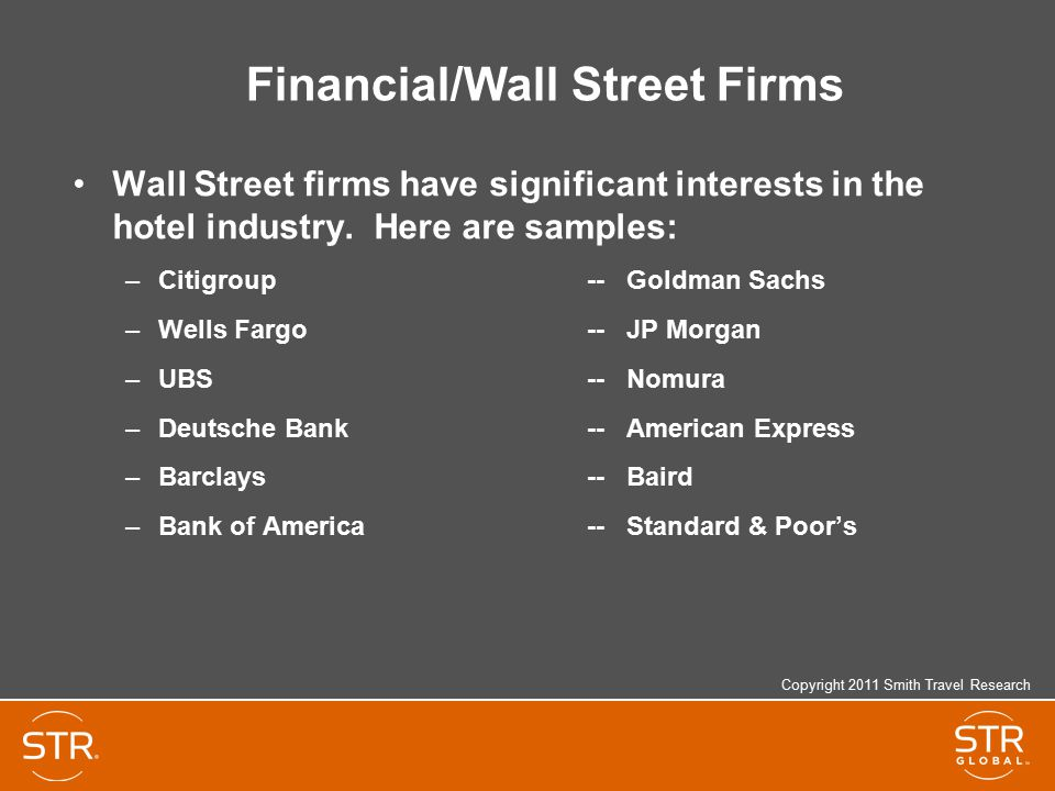 Financial/Wall Street Firms