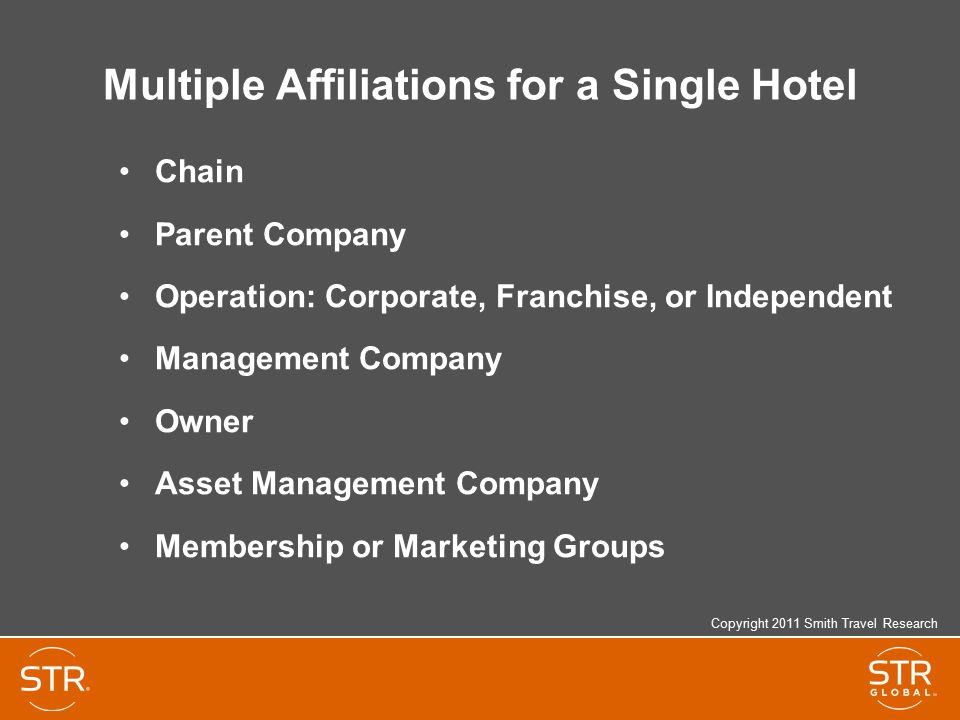 Multiple Affiliations for a Single Hotel