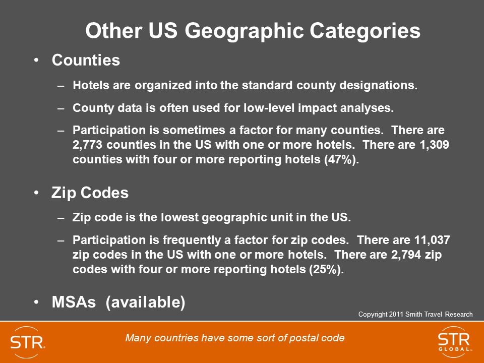 Other US Geographic Categories