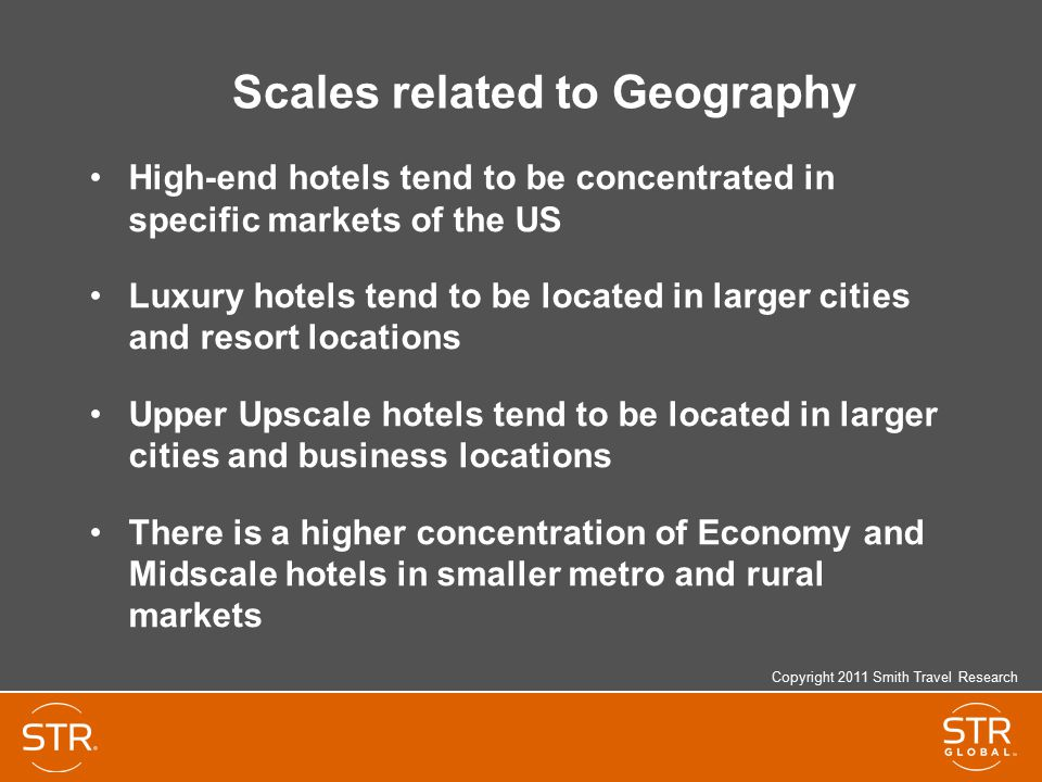 Scales related to Geography