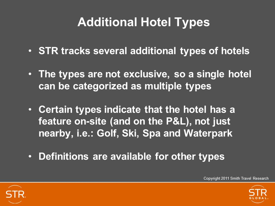 Additional Hotel Types