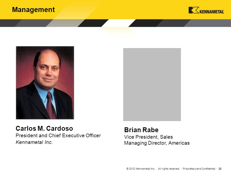 Management Carlos M. Cardoso John Chang
