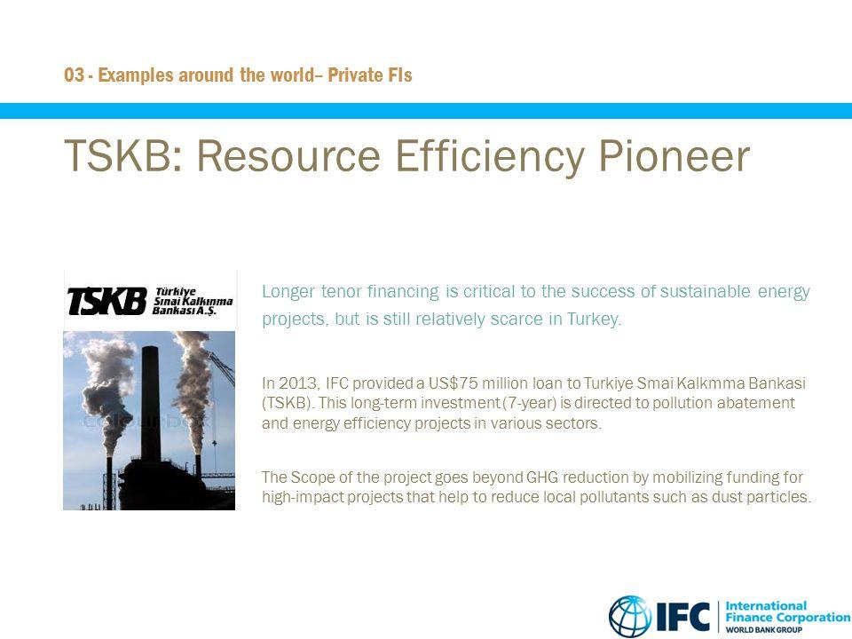 TSKB: Resource Efficiency Pioneer