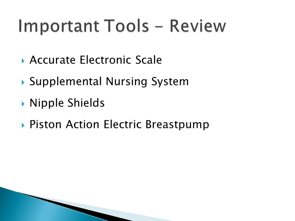 Important Tools - Review