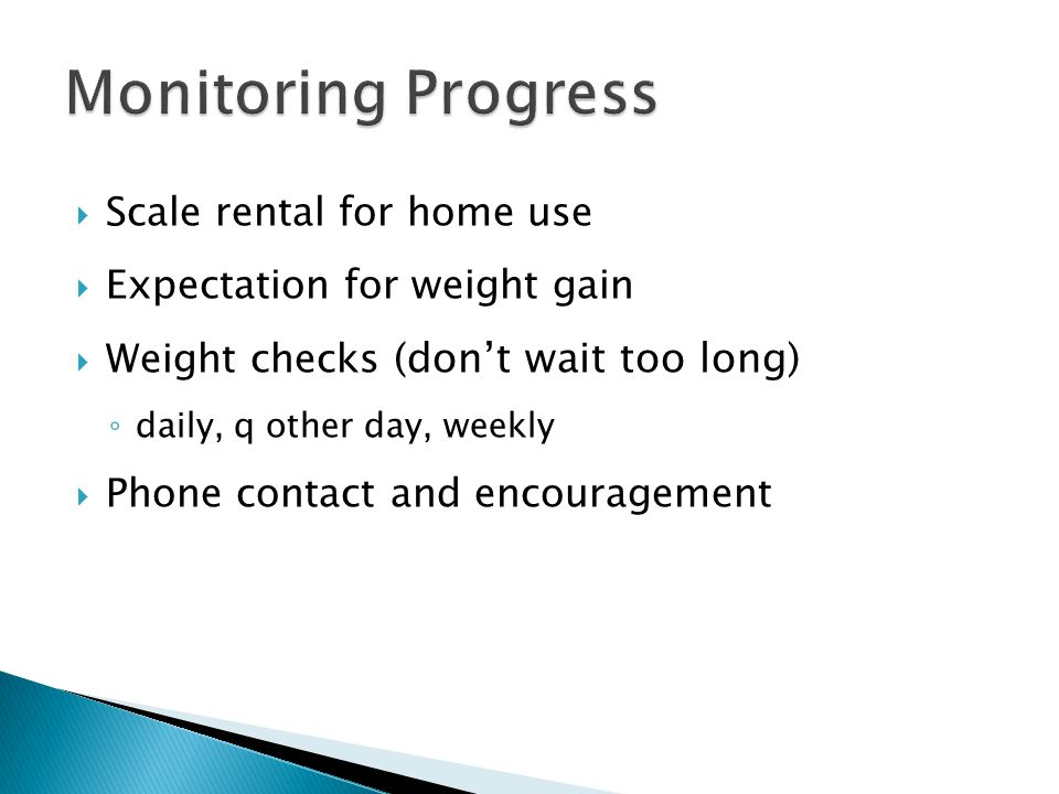 Monitoring Progress Scale rental for home use