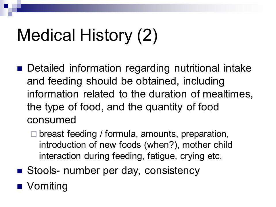 Medical History (2)