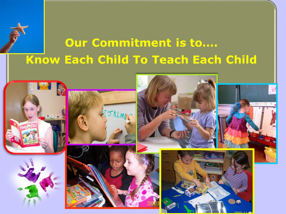Know Each Child To Teach Each Child
