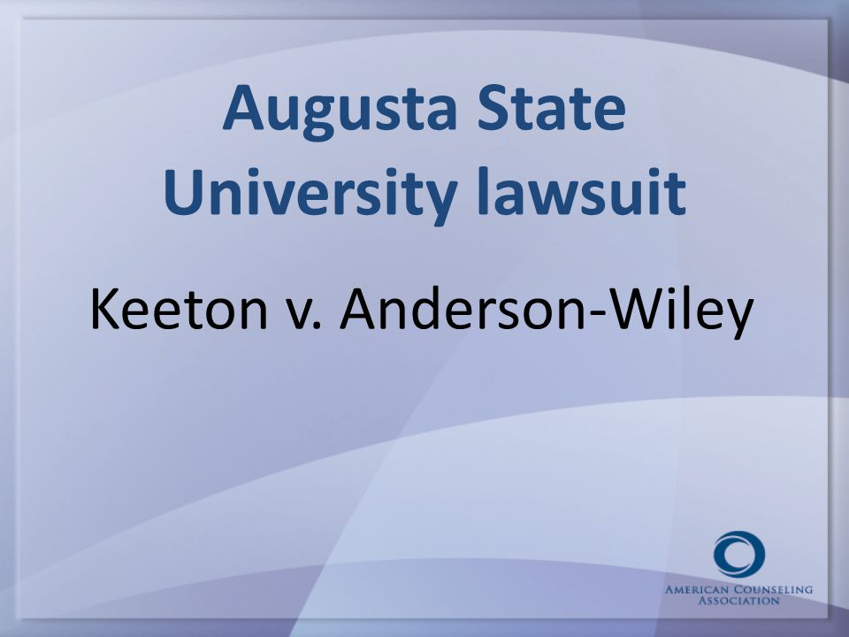 Augusta State University lawsuit