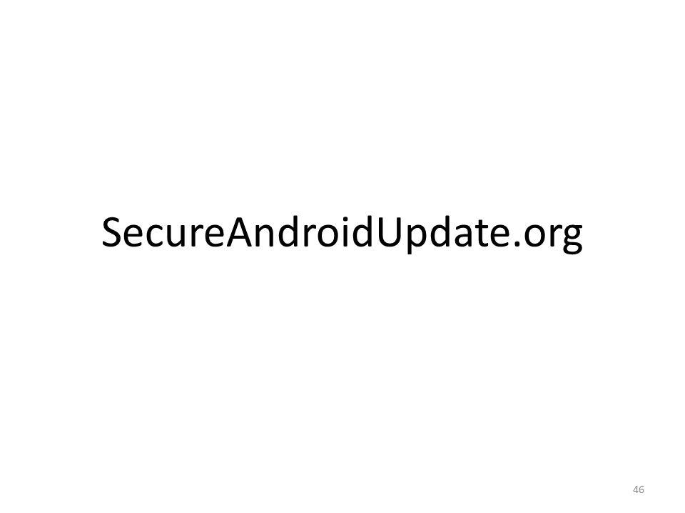 SecureAndroidUpdate.org