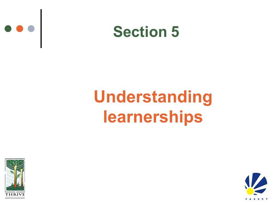 Understanding learnerships