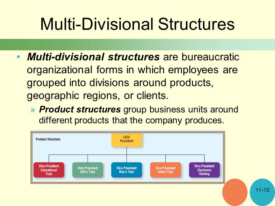 Multi-Divisional Structures