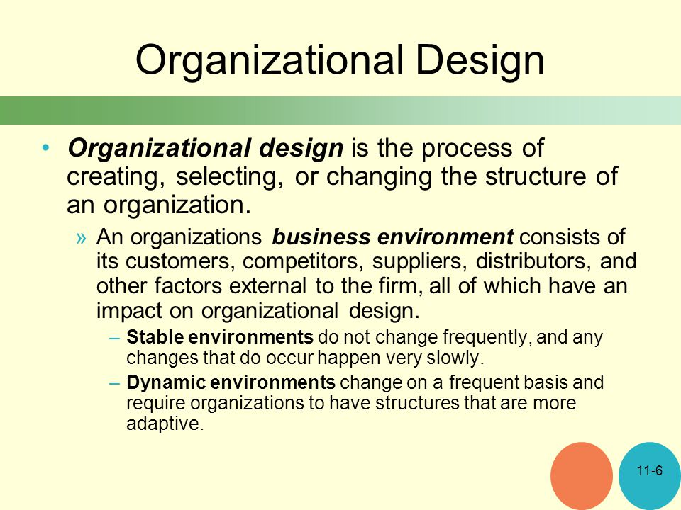 how does changing environments affect organisations Work in the 21 st century: the changing role of human resources the ways that hr can provide value is to understand how changing environmental, organizational.