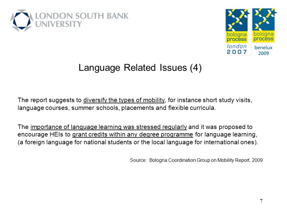 Language Related Issues (4)
