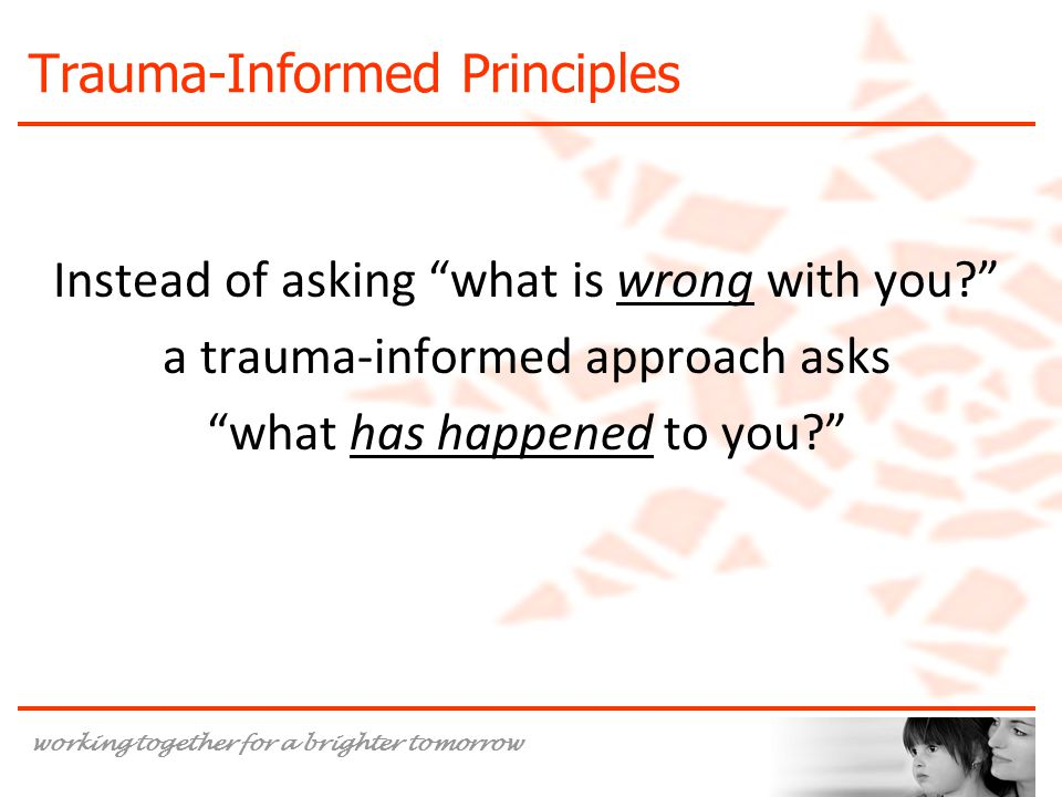 Trauma-Informed Principles