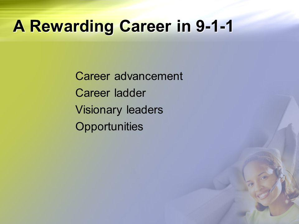 A Rewarding Career in 9-1-1