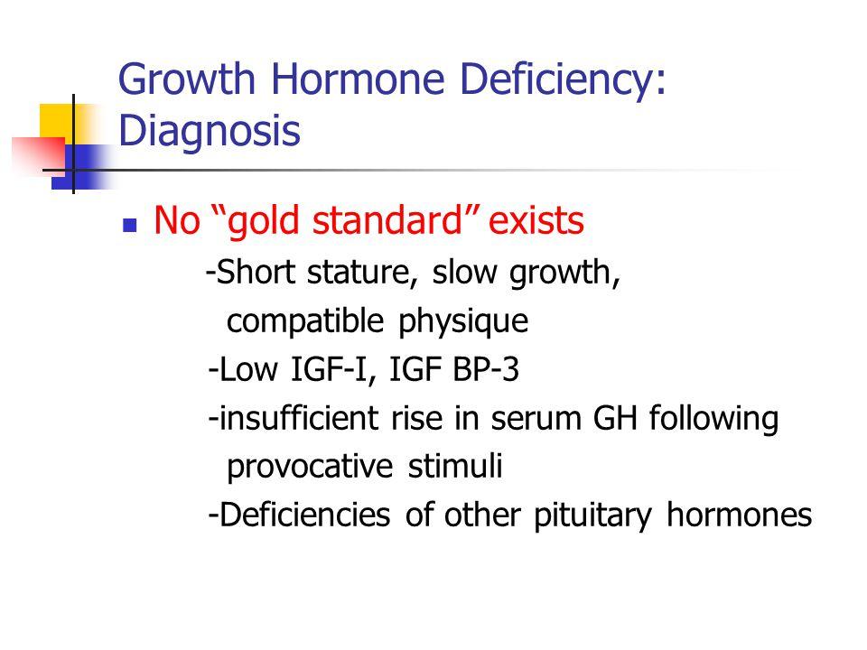 Growth Hormone Deficiency: Diagnosis
