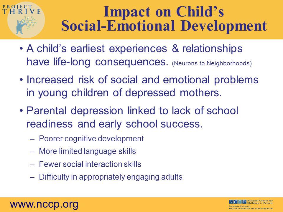 Impact on Child's Social-Emotional Development