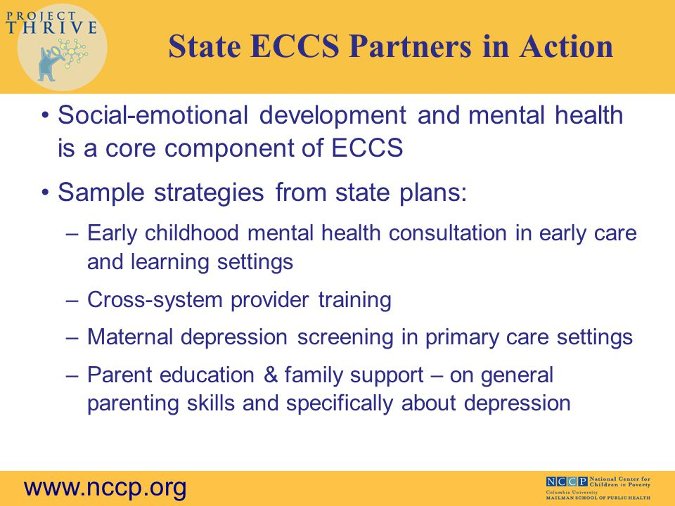 State ECCS Partners in Action