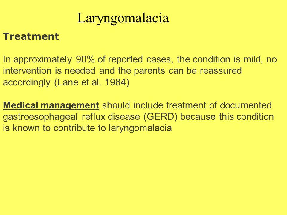 Laryngomalacia Treatment