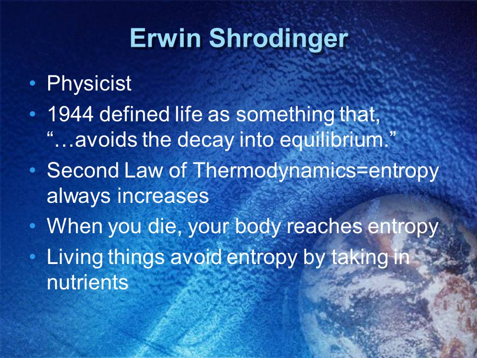 Erwin Shrodinger Physicist