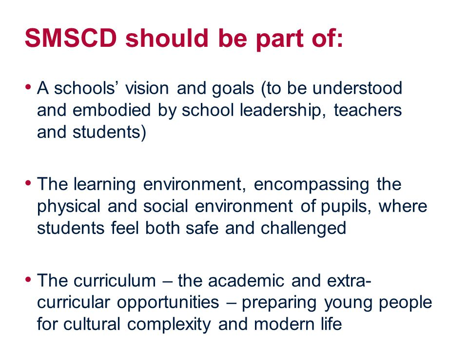 social moral spiritual and cultural development Guidance on how independent schools should support pupils' spiritual, moral, social and cultural (smsc) development.