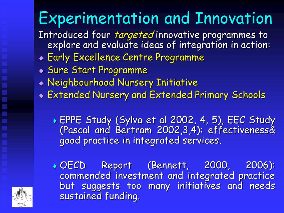 Experimentation and Innovation