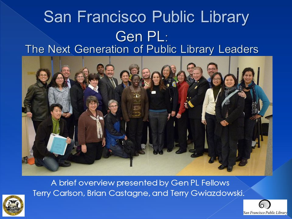 Gen PL: The Next Generation of Public Library Leaders