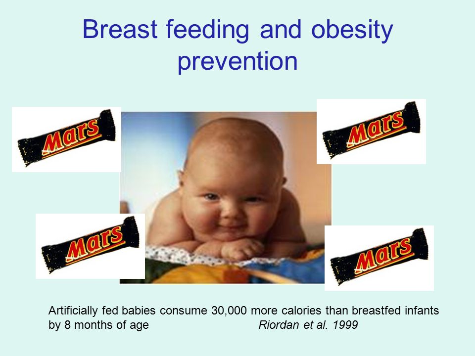 Breast feeding and obesity prevention