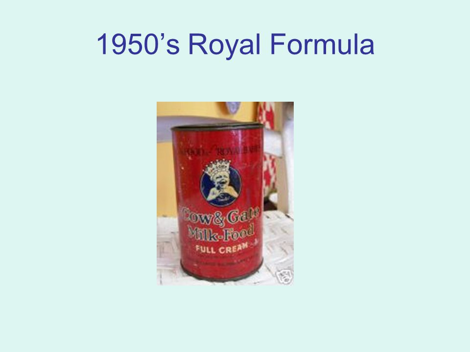 1950's Royal Formula