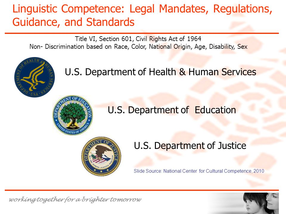 Title VI, Section 601, Civil Rights Act of 1964