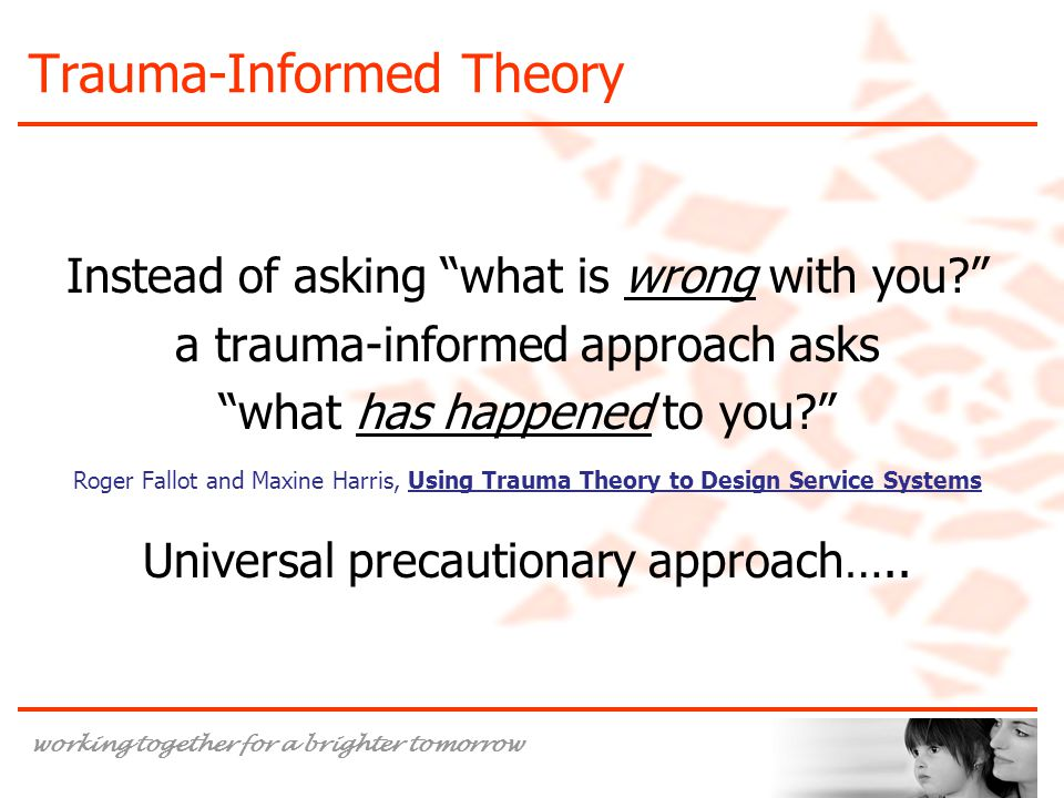 Trauma-Informed Theory