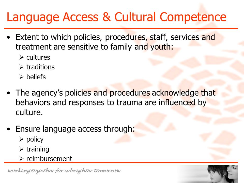 Language Access & Cultural Competence