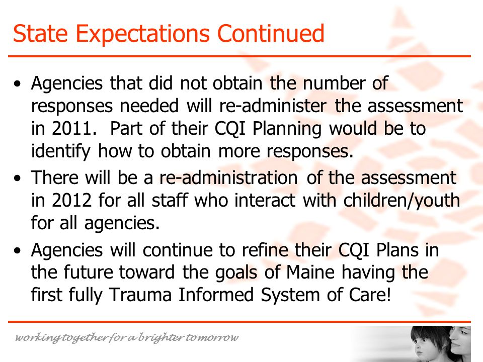 State Expectations Continued
