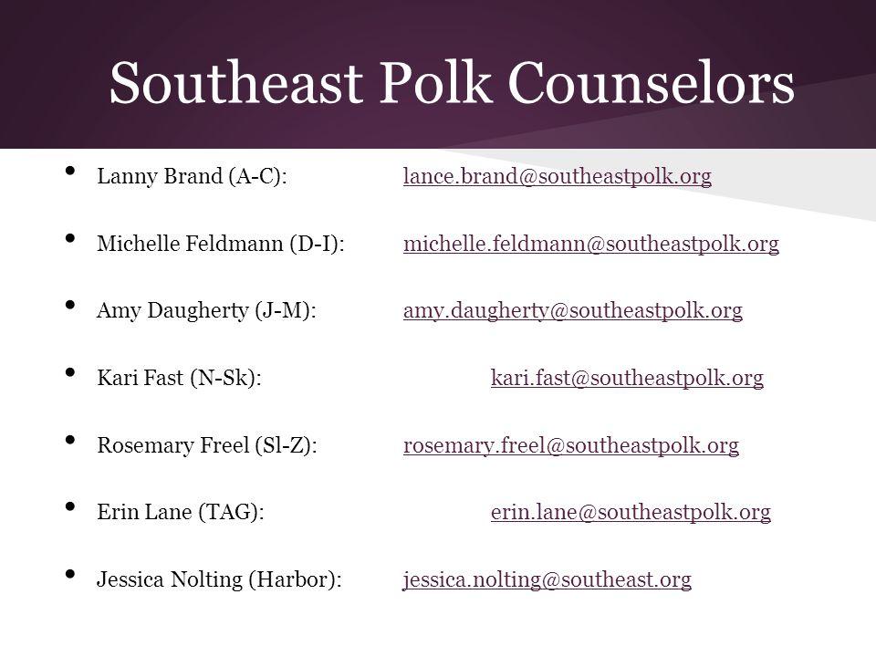 Southeast Polk Counselors