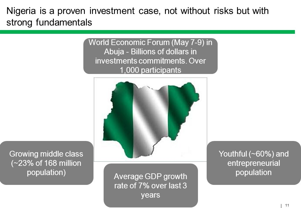 Nigeria is a proven investment case, not without risks but with strong fundamentals
