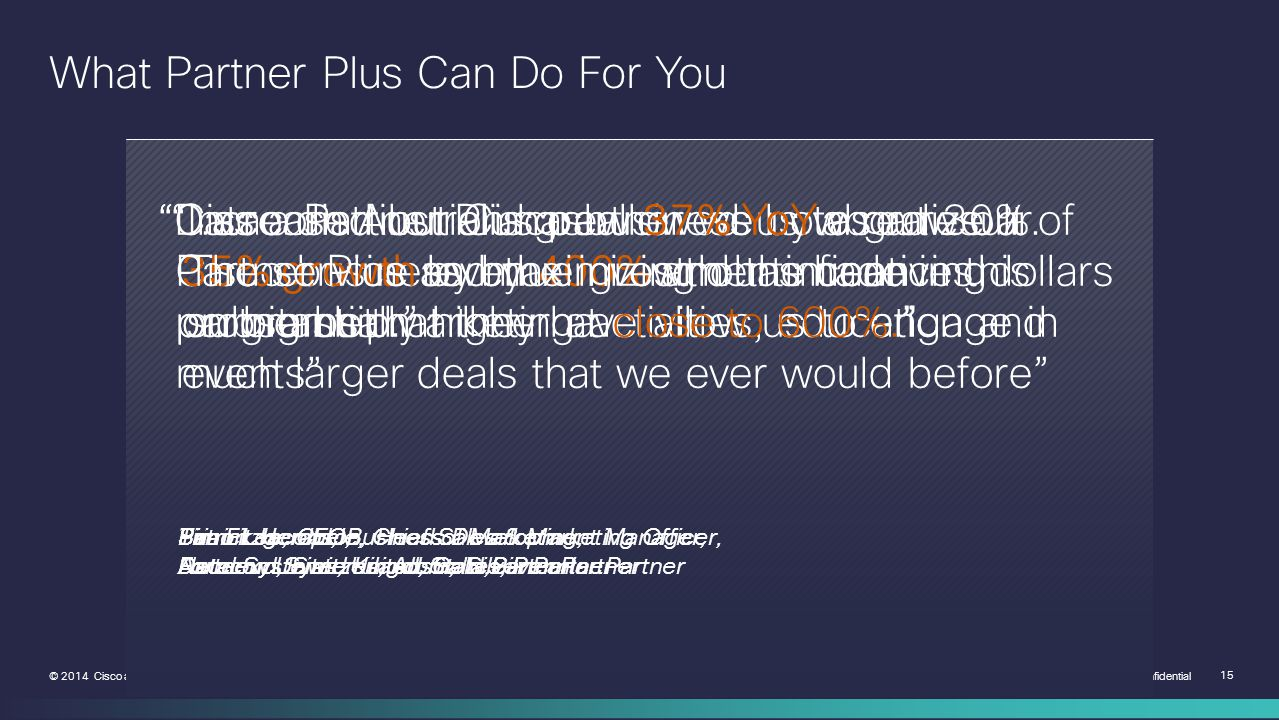 What Partner Plus Can Do For You