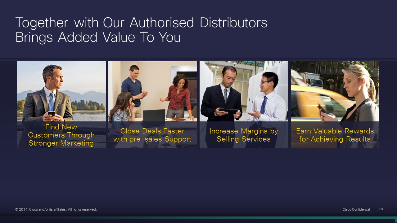 Together with Our Authorised Distributors Brings Added Value To You