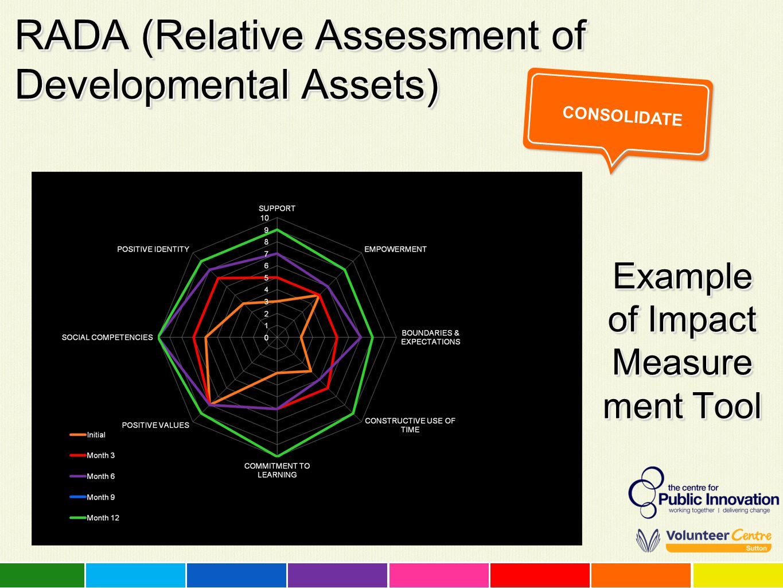 RADA (Relative Assessment of Developmental Assets)