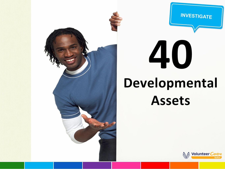 40 Developmental Assets Investigate
