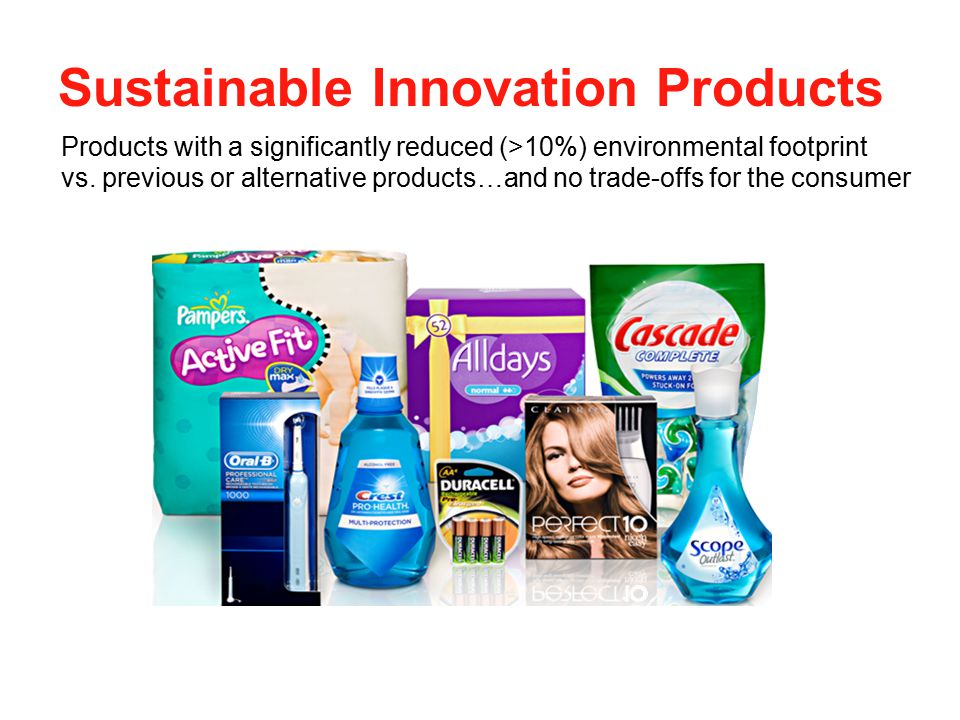 Sustainable Innovation Products