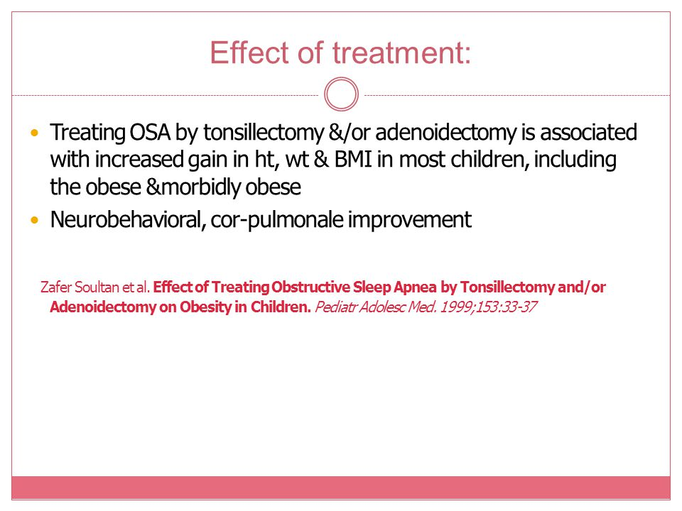 Effect of treatment: