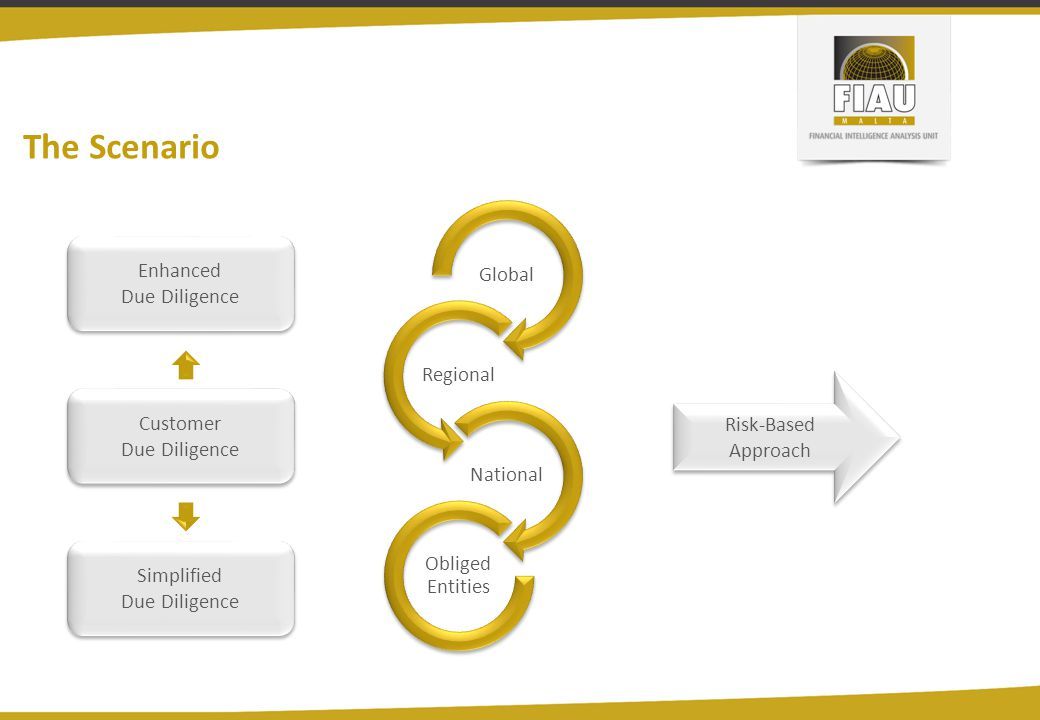 The Scenario Global Enhanced Due Diligence Regional National