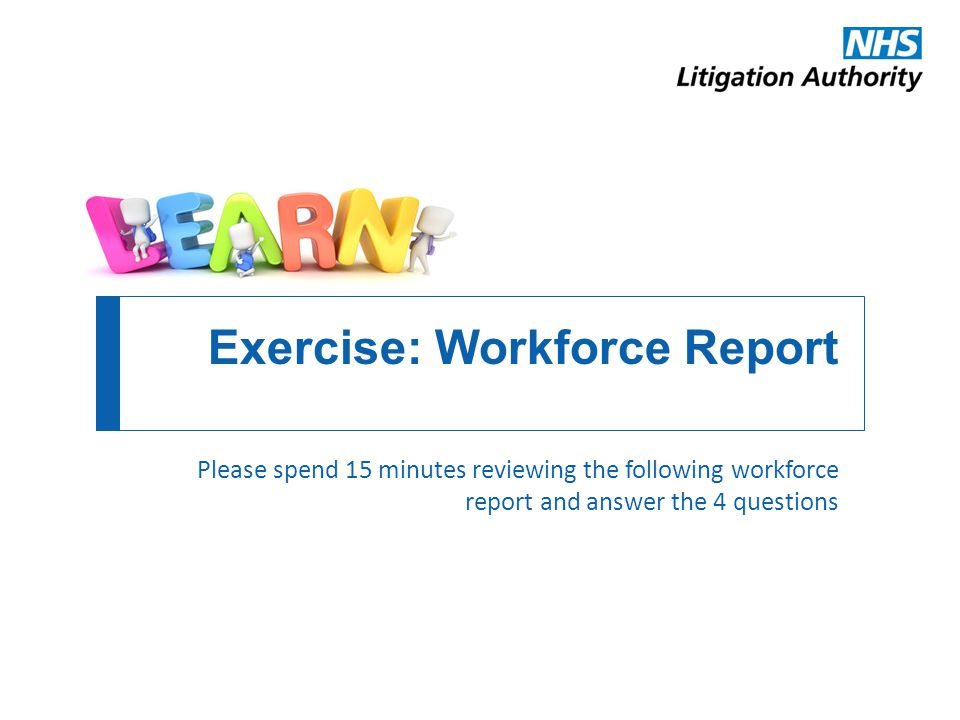 Exercise: Workforce Report