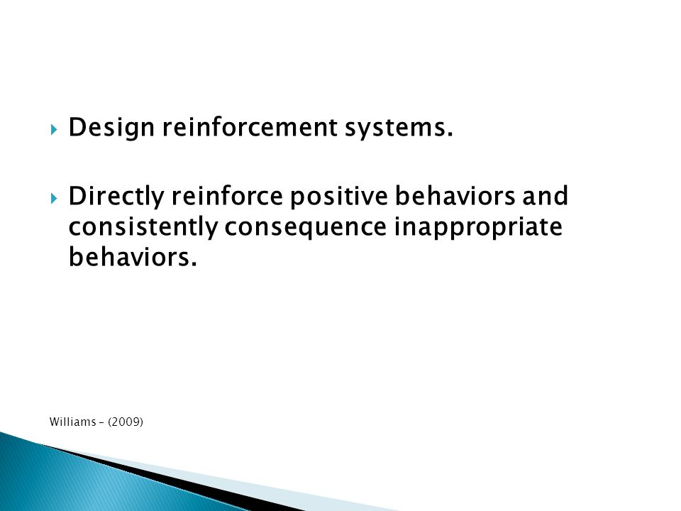 Design reinforcement systems.