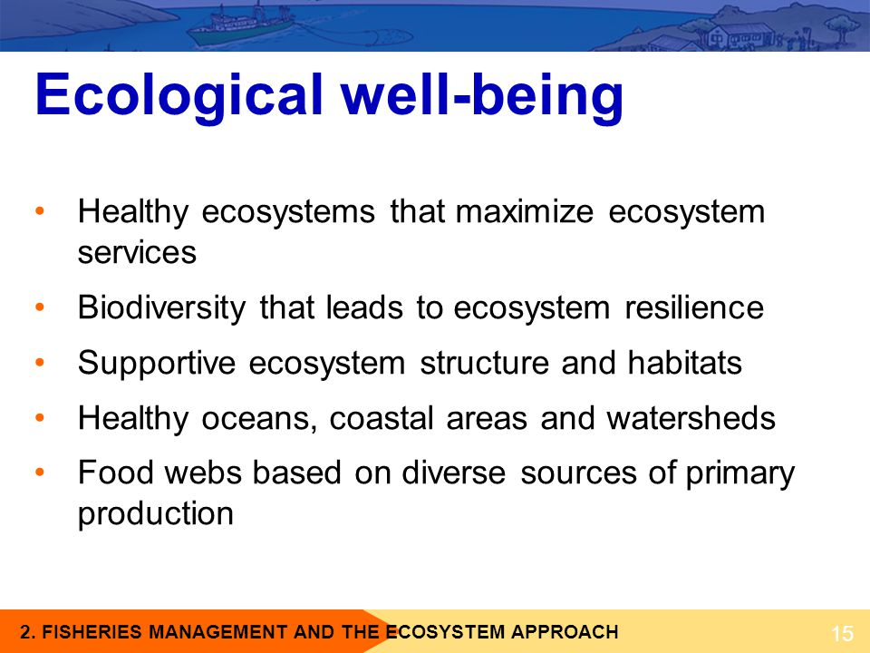 Ecological well-being